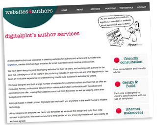 Websites for Authors